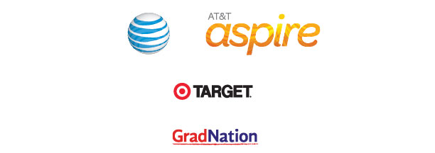 Sponsored by AT&T Aspire, Target and GradNation